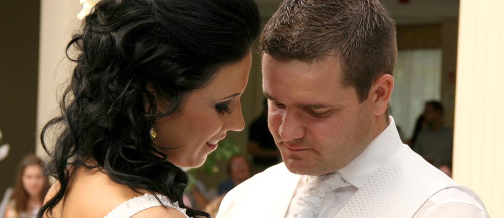 Esküvői fotózás Debrecenben.