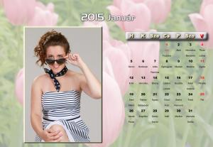 2015-ös egyedi asztali naptár